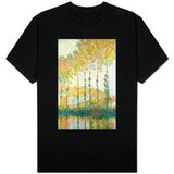 Poplars on the Banks of the Epte, Autumn, 1891 T-Shirt