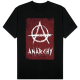 Anarchy Symbol Resistance T-shirts