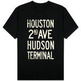 New York City Houston Hudson Vintage T-Shirt