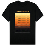 Beer Brewers Reference Chart T-shirts