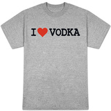 I Heart Vodka T-shirts