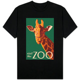 Visit the Zoo, Giraffe Up Close Shirt