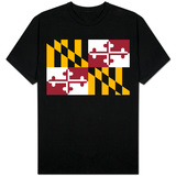 Maryland State Flag Shirt