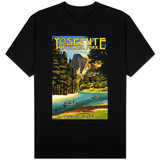 Merced River Rafting - Yosemite National Park, California T-Shirt