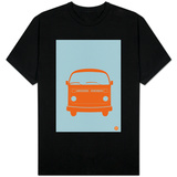 Orange VW Bus T-shirts