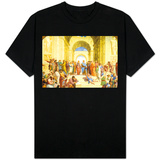 Raphael (The School of Athens) Restored T-Shirt