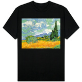 Wheatfield with Cypresses, 1889 Shirt