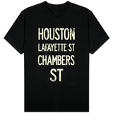 New York City Houston Chambers Vintage Subway T-shirts