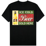 Ice Cold Beer Sold Here T-Shirt