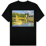 The Bridge at Argenteuil T-shirts