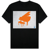 Orange Piano Shirt