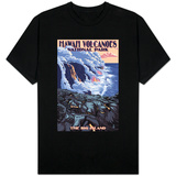 The Big Island, Hawaii - Lava Flow Scene Shirts