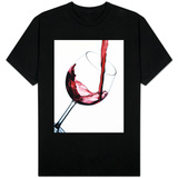 Pouring Red Wine into Wine Glass T-Shirt