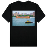 New York City Staten Island Ferry Photo Shirt