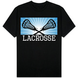 Lacrosse Blue T-Shirt