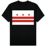 Washington DC Flag T-shirts