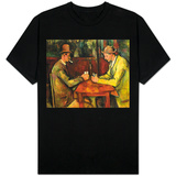 The Card Players, 1893-96 T-shirts