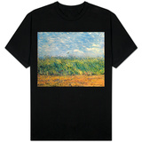 Wheatfield with Lark, 1887 Shirt
