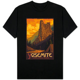 Sentinel, Yosemite National Park, California Shirts