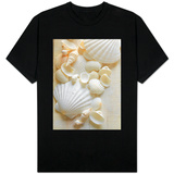 White Sea Shells T-shirts
