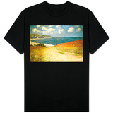 Path Through the Corn at Pourville T-Shirt