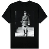 The Famous French General General de Gaulle with Reynand Government T-shirts