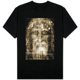 Shroud of Turin Face Detail T-shirts