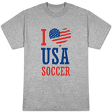 I Love USA Soccer (World Cup) Shirts