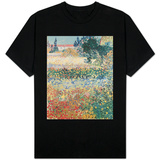Garden in Bloom, Arles, c.1888 T-Shirt