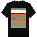 Abstract Orange 2 Shirts