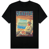 Seattle by Air T-shirts