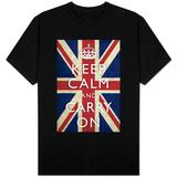 Keep Calm and Carry On (Union Jack Flag) Tričko
