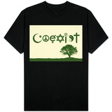 Coexist Natural Shirts