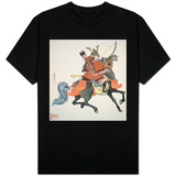 Samurai of Old Japan Armed with Bow and Arrows Shirts