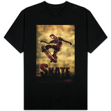 Skateboarding Sketch T-Shirt