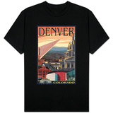 Denver, Colorado - Skyline View Shirts
