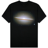 The Majestic Sombrero Galaxy M104 Space Photo Shirt