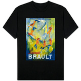 Limonade Brault Vintage Poster - Europe T-Shirt