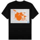Orange Drum Set T-Shirt