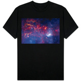 NASA's Great Observatories Examine the Galactic Center Region Space Photo T-Shirt