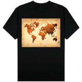 World  Map 7 Shirts