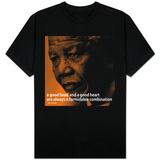 Nelson Mandela Quote iNspire 2 T-skjorte