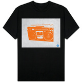 Orange Boom Box Shirts
