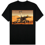NASA Mars Exploration Rover Sprit Opportunity Photo T-shirts