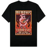 Memphis, Tennessee - Guitar Pig T-Shirt