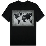 World  Map 8 Shirts