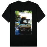 Jeep Going Surfing in Costa Rica Photo T-skjorter