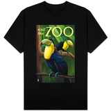 Visit the Zoo, Tucan Scene T-Shirt