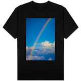 Rainbow over Clouds in Costa Rica Photo T-shirts