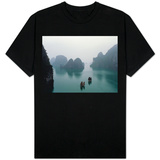 Gammelt tauverk i Hạ Long-bukten T-skjorter